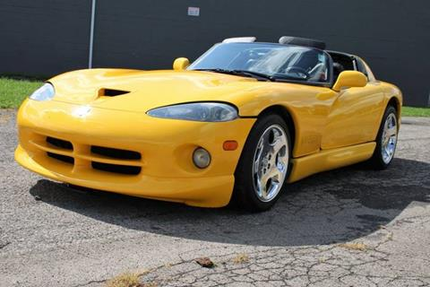 2002 Dodge Viper for sale at Great Lakes Classic Cars & Detail Shop in Hilton NY