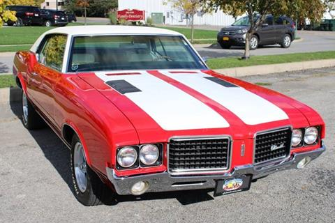 1972 Oldsmobile Cutlass Supreme for sale at Great Lakes Classic Cars & Detail Shop in Hilton NY