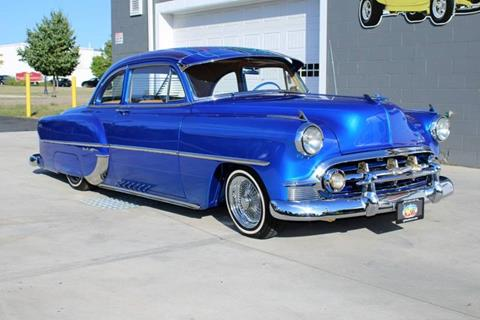 1953 Chevrolet Bel Air for sale at Great Lakes Classic Cars & Detail Shop in Hilton NY