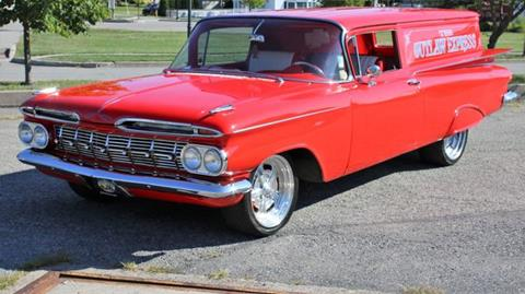 1959 Chevrolet Biscayne for sale at Great Lakes Classic Cars & Detail Shop in Hilton NY