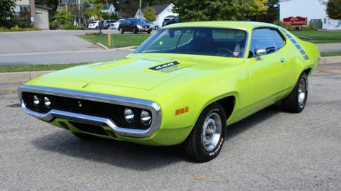1971 Plymouth Roadrunner for sale at Great Lakes Classic Cars in Hilton NY