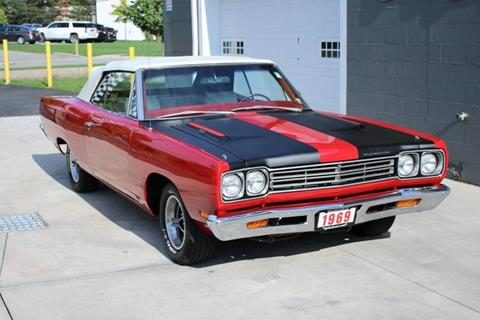 1969 Plymouth Roadrunner for sale at Great Lakes Classic Cars & Detail Shop in Hilton NY