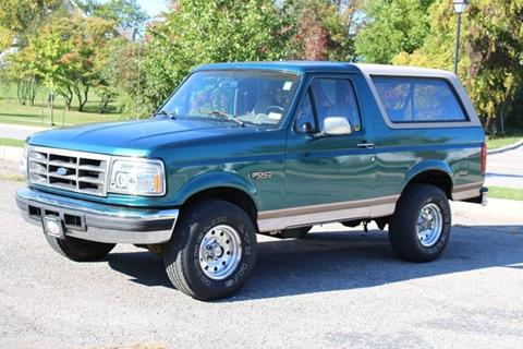 1996 Ford Bronco for sale at Great Lakes Classic Cars in Hilton NY