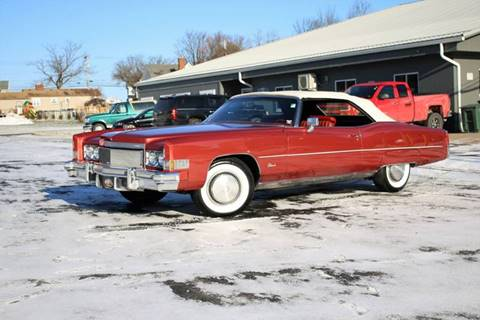 1974 Cadillac Eldorado for sale at Great Lakes Classic Cars in Hilton NY