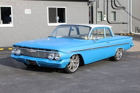 1961 Chevrolet Bel Air for sale at Great Lakes Classic Cars in Hilton NY