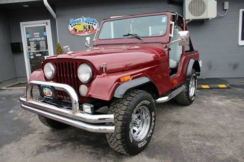 1978 Jeep CJ-5 for sale at Great Lakes Classic Cars in Hilton NY
