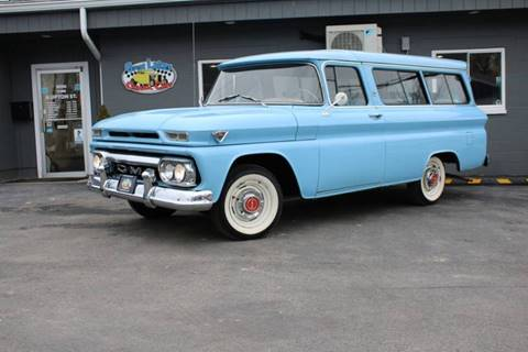 1963 GMC Suburban for sale at Great Lakes Classic Cars in Hilton NY