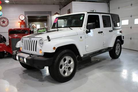 2015 Jeep Wrangler Unlimited for sale at Great Lakes Classic Cars in Hilton NY