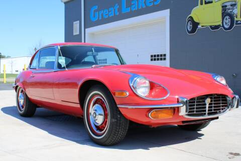 1971 Jaguar E-Type for sale at Great Lakes Classic Cars in Hilton NY