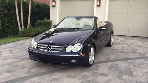 2008 Mercedes-Benz CLK for sale at Great Lakes Classic Cars in Hilton NY