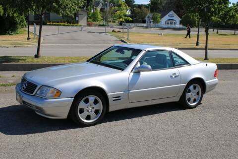 2000 Mercedes-Benz SL-Class for sale at Great Lakes Classic Cars in Hilton NY