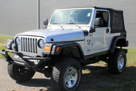 2004 Jeep Wrangler for sale at Great Lakes Classic Cars in Hilton NY