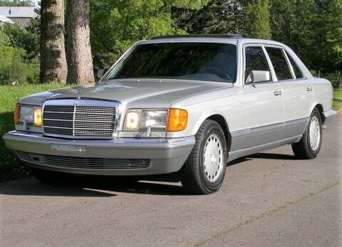 1986 Mercedes-Benz 420-Class for sale at Great Lakes Classic Cars in Hilton NY