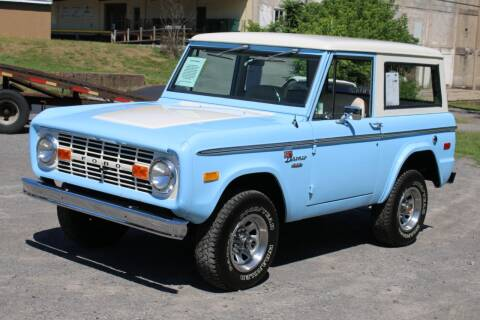 1974 Ford Bronco for sale at Great Lakes Classic Cars in Hilton NY