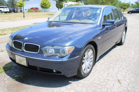 2002 BMW 7 Series for sale at Great Lakes Classic Cars in Hilton NY