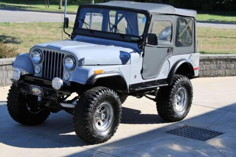 1971 Jeep CJ-5 for sale at Great Lakes Classic Cars in Hilton NY