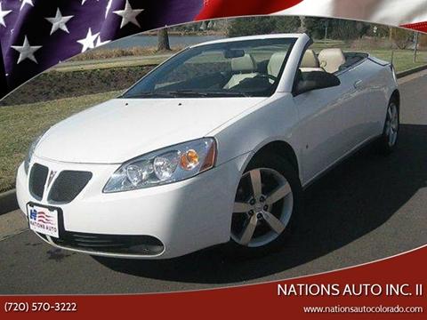 2007 Pontiac G6 for sale in Denver, CO