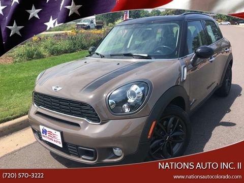 Mini Used Cars Pickup Trucks For Sale Denver Nations Auto Inc Ii
