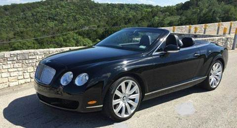 2007 Bentley Continental GTC for sale at Austinite Auto Sales in Austin TX