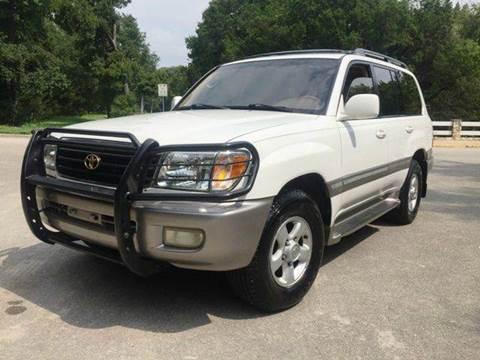 2000 Toyota Land Cruiser for sale at Austinite Auto Sales in Austin TX