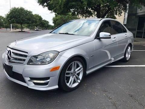 2012 Mercedes-Benz C-Class for sale at Austinite Auto Sales in Austin TX