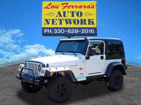 2005 Jeep Wrangler for sale in Youngstown, OH