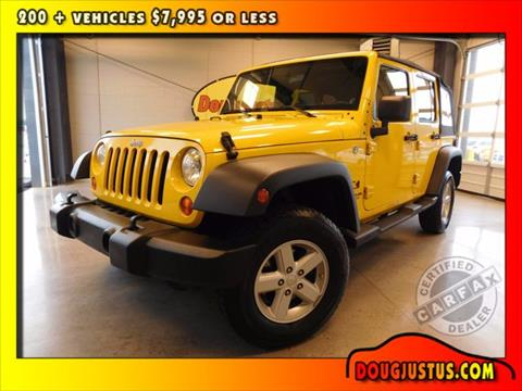 2008 Jeep Wrangler Unlimited for sale in Knoxville, TN