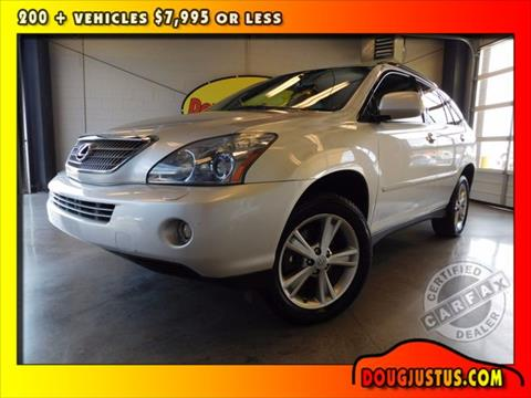 2008 Lexus RX 400h for sale in Knoxville, TN