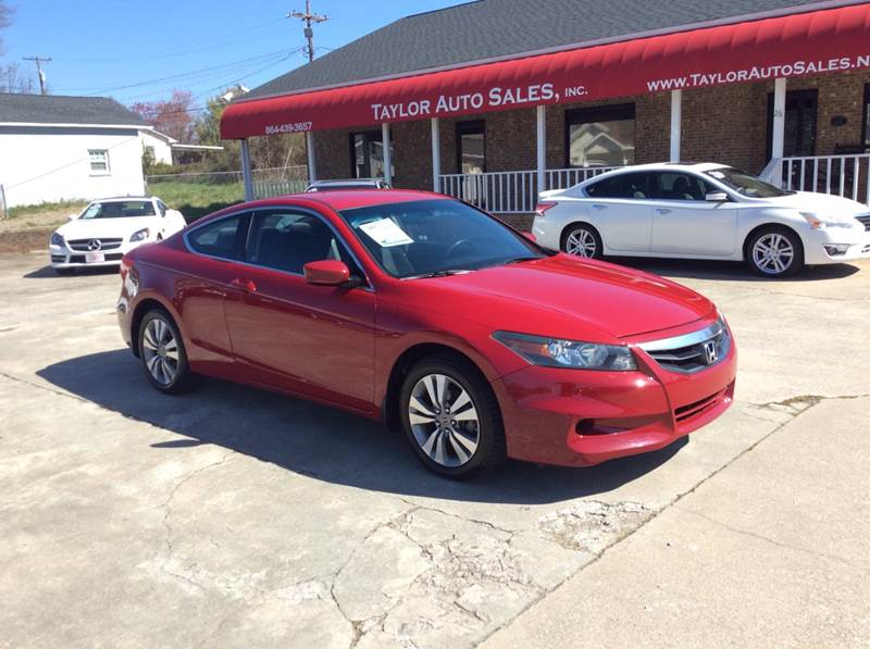 2011 Honda Accord LX-S 2dr Coupe 5M In Lyman SC - Taylor ...