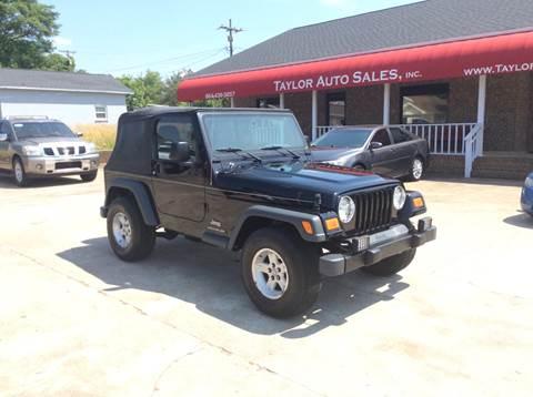 2005 Jeep Wrangler for sale in Lyman, SC