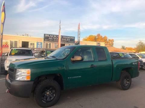 Chevrolet Used Cars Pickup Trucks For Sale Rancho Cordova Black - Diamond chevrolet used cars