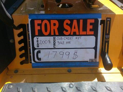2008 Cub Cadet RZT 42 for sale in Wisconsin Dells, WI
