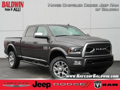 2018 RAM Ram Pickup 2500 For Sale At Hayes Chrysler Dodge Jeep Of Baldwin  In Alto