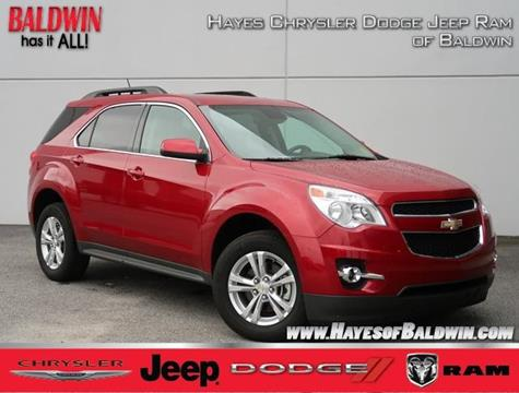 2014 Chevrolet Equinox For Sale At Hayes Chrysler Dodge Jeep Of Baldwin In  Alto GA