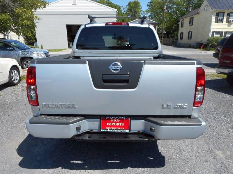 2007 Nissan Frontier LE 4dr Crew Cab 4WD 5.0 ft. SB - Winchester VA