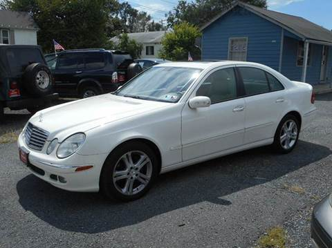 2006 Mercedes-Benz E-Class for sale at D&S IMPORTS, LLC in Strasburg VA