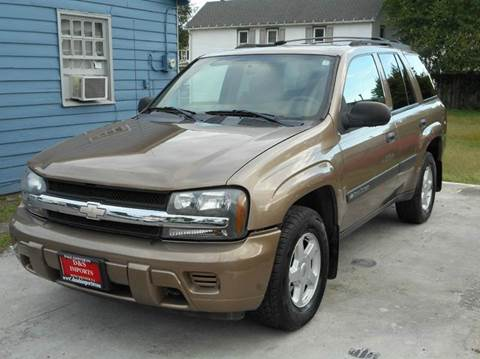 2003 Chevrolet TrailBlazer for sale at D&S IMPORTS, LLC in Strasburg VA