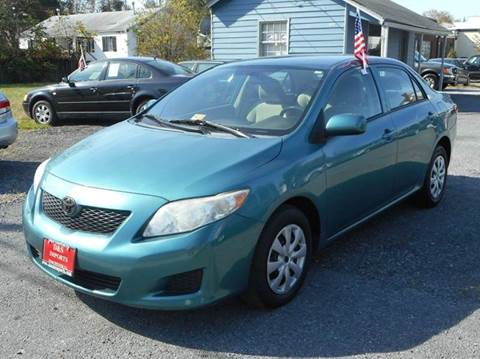 2010 Toyota Corolla for sale at D&S IMPORTS, LLC in Strasburg VA