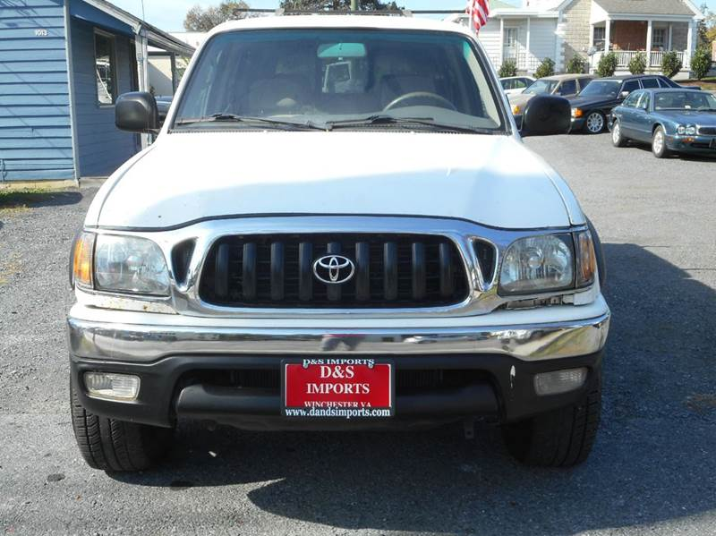 2001 toyota tacoma prerunner v6 4dr double cab 2wd sb in winchester va d s imports llc. Black Bedroom Furniture Sets. Home Design Ideas