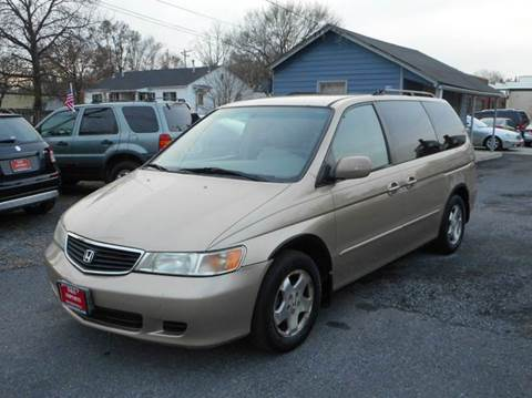 2001 Honda Odyssey for sale at D&S IMPORTS, LLC in Strasburg VA