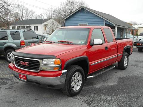 2000 GMC Sierra 1500 for sale at D&S IMPORTS, LLC in Strasburg VA
