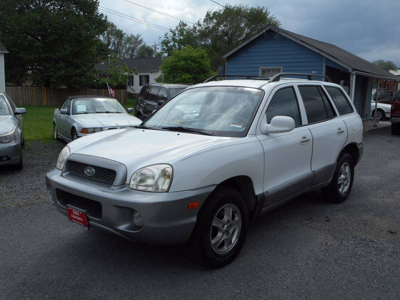 2003 hyundai santa fe awd gls 4dr suv in winchester va d s imports llc. Black Bedroom Furniture Sets. Home Design Ideas