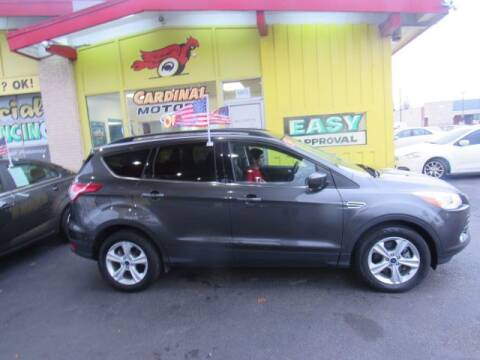 2016 Ford Escape for sale at Cardinal Motors in Fairfield OH