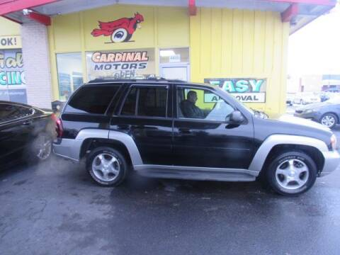 2008 Chevrolet TrailBlazer for sale at Cardinal Motors in Fairfield OH