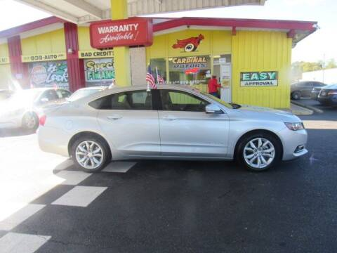 2018 Chevrolet Impala for sale at Cardinal Motors in Fairfield OH
