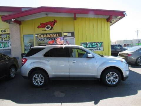2017 Chevrolet Equinox for sale at Cardinal Motors in Fairfield OH