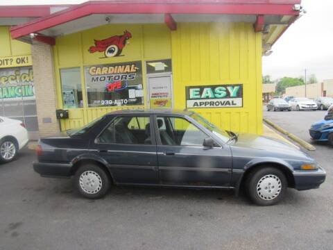 1988 Honda Accord for sale at Cardinal Motors in Fairfield OH