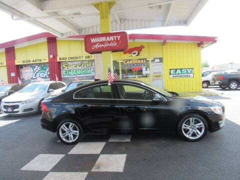 2014 Volvo S60 for sale at Cardinal Motors in Fairfield OH