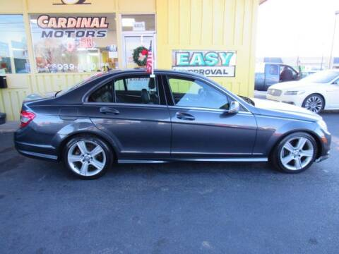 2010 Mercedes-Benz C-Class for sale at Cardinal Motors in Fairfield OH