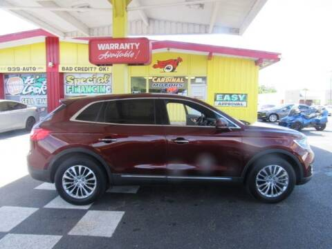 2016 Lincoln MKX for sale at Cardinal Motors in Fairfield OH